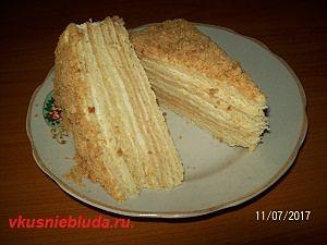 как приготовить торт рыжик