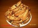 Песочное печенье с сухофруктами.