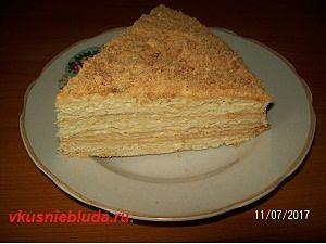 приготовить торт рыжик