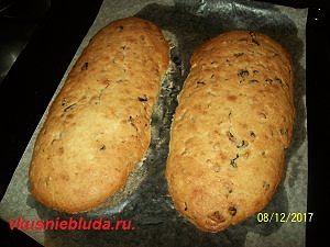 рецепт печенья с сухофруктами