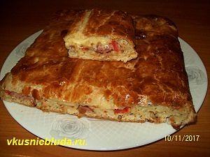 рецепт закрытого пирога