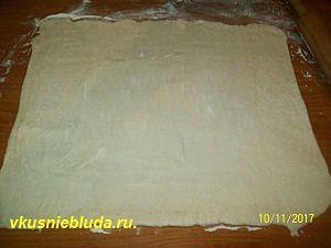 слоённое тесто для пирога