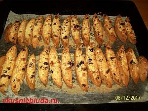 выпекаем печенье с сухофруктами