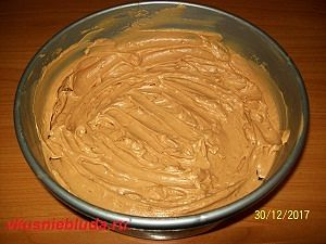крем для торта сникерс