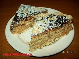 приготовить торт сникерс