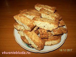 рецепт печенье с орехами