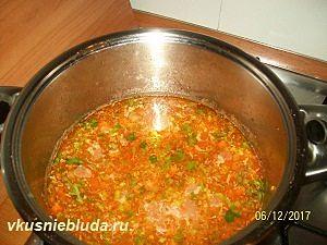 суп из перловки