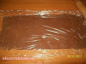 тесто с какао