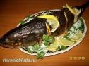 Как запечь рыбу в духовке.