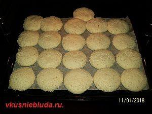 печенье с кунжутом рецепт