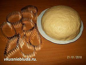 рецепт сметанного печенья