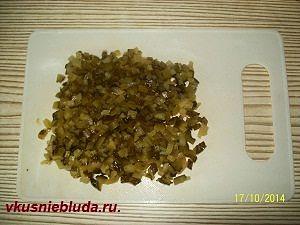 солёные огурцы для салата