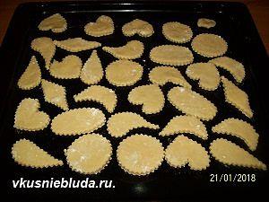 выпекаем сметанное печенье