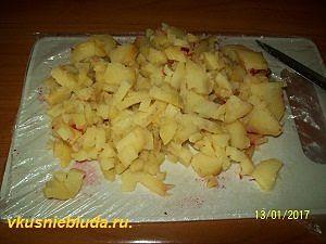 картошка для винегрета