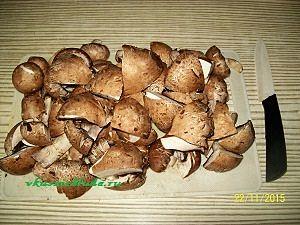 грибы для гречки