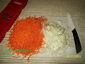 овощи для гречки