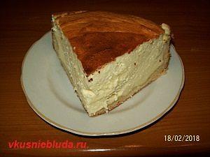 приготовить творожный пирог