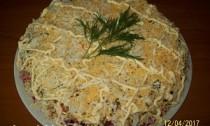 салат селёдка под шубой