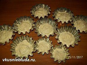 сметанное тесто для кексов