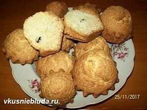 вкусные кексы на сметане