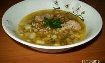 вкусный суп рассольник