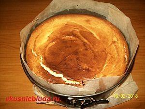выпекаем творожный пирог