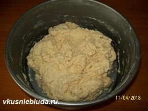 дрожжевое тесто для кекса