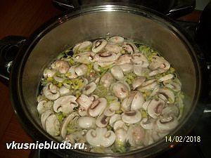 готовим суп с кнелями
