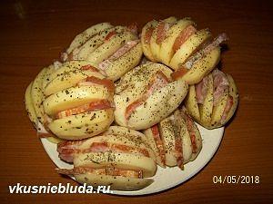 рецепт картошка в духовке