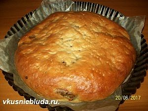 рецепт пирога с зеленью