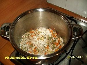 домашний суп с овощами