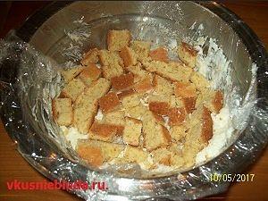 формируем торт пломбир