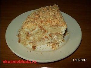 как приготовить торт пломбир