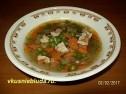 Как сварить суп с овощами.