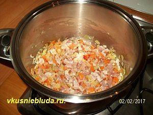рецепт домашнего супа с овощами