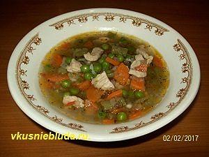 сварить суп с овощами