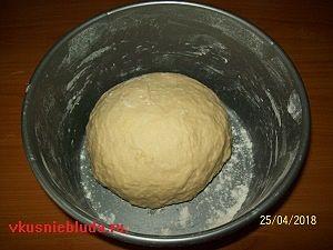 тесто для творожных пирожков