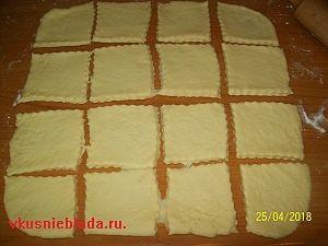 заготовки для творожных пирожков