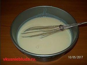 заварной крем торт пломбир