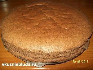 бисквит для тирамису