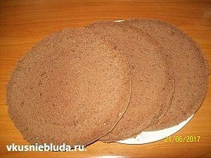 бисквитные коржи тирамису