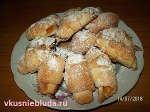 быстрое печенье с абрикосами
