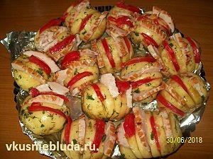 молодая картошка для запекания