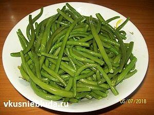 салат из стручковой фасоли