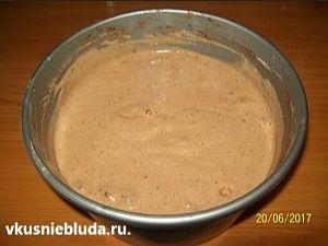 шоколадное тесто тирамису