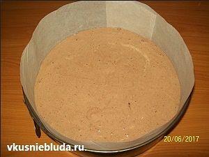 шоколадный бисквит тирамису
