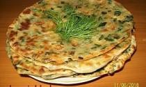 хлебцы с зеленью