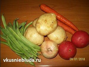 фасоль морковь томаты