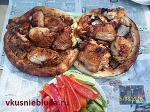 куриные бёдрышки на мангале