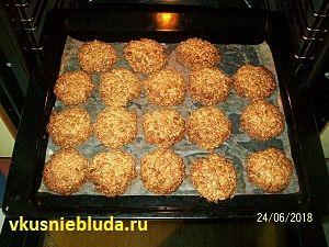 печенье овсяное с семечками рецепт